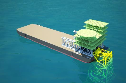 Platform Topside Float Over Engineering
